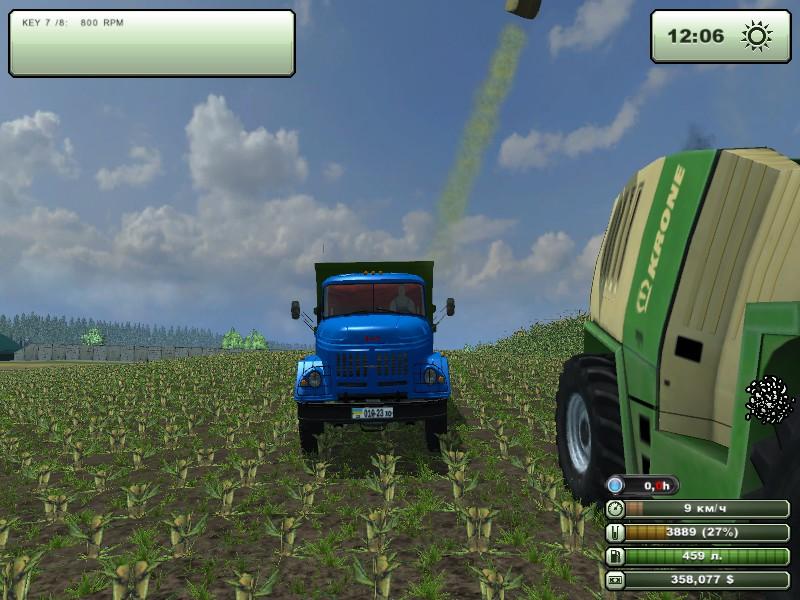 Мод зил амур для farming simulator 2013