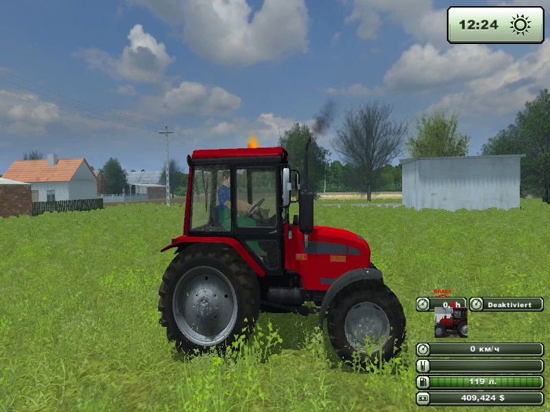 Мод  МтЗ-82  для Farming Simulator 2013 - Трактора.