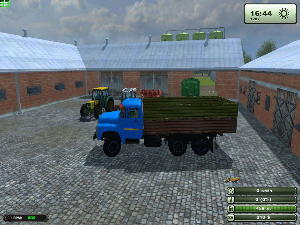 Мод зил 133 для farming simulator 2013