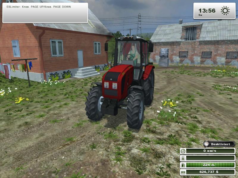 Трактор МТЗ 1220.4   Беларус-МТЗ обозрение