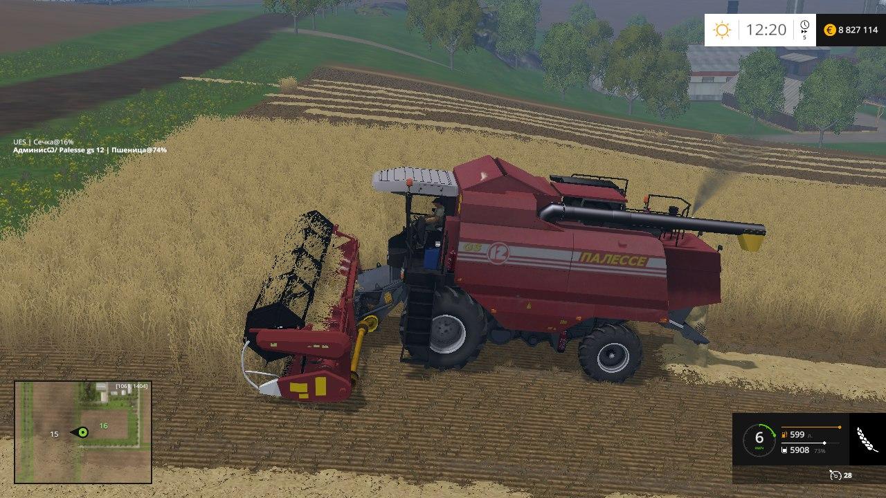 Моды для farming simulator 2015 палессе 10