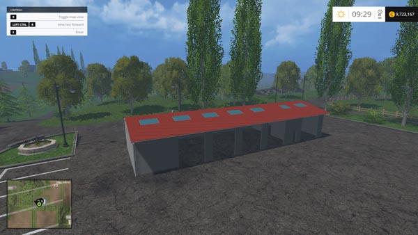 скачать мод гараж для Farming Simulator 2015 - фото 8