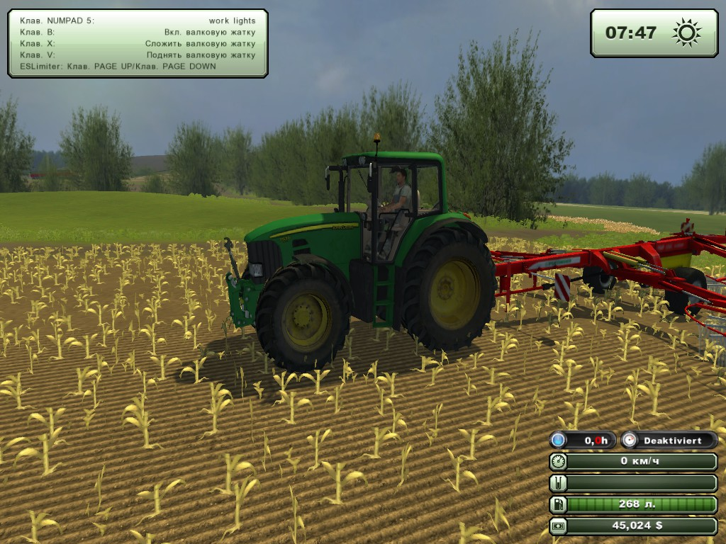 Farming Simulator 2013 Мод Courseplay V 3.41 Rus