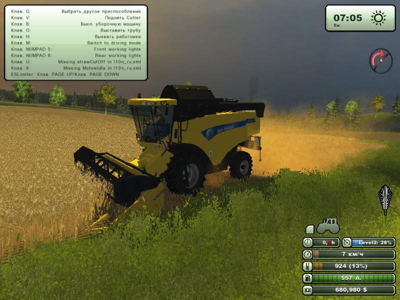 скачать моды на farming simulator 2015 на русские комбайны
