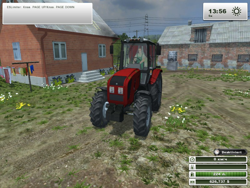 Мод мтз 1220 для farming simulator 2013